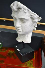 Sale 8066 - Lot 1002 - Roman Face on Stand