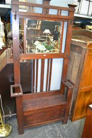 Sale 8115 - Lot 1297 - Mirrored Back Hall Stand