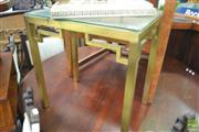 Sale 8284 - Lot 1091 - Glass Top Side table