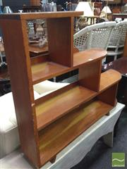 Sale 8412 - Lot 1072 - Maple Step Side Bookcase