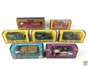 Sale 8559A - Lot 13 - Group of 13 Vintage Lesney Models of Yesteryear issued c.1970s with 1 Matchbox Australia Post car in box c.1990s (14)