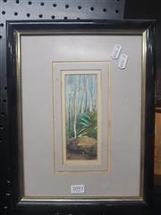 Sale 8833 - Lot 2093 - A Small Framed Watercolour Signed Lower Left (27cm x 34cm)