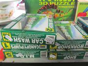 Sale 8169 - Lot 2242A - 5 Boxed Collect & Build BP sets, Workshop, Shop, Carwash, canopy/Pumps, M.I.D.