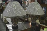 Sale 8406 - Lot 1059 - Pair of Royal Satsuma Style Table Lamps (4101)
