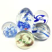 Sale 8607R - Lot 88 - Collection of Five Paperweights (H: 11cm)