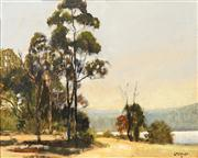 Sale 8678 - Lot 2027 - Doug Crozier - Manly Dam 29 x 39cm