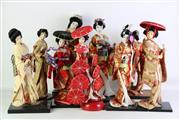 Sale 8923 - Lot 42 - Large Collection of Japanese Dolls (Tallest 44cm)