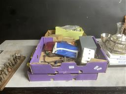Sale 9106 - Lot 2450 - Collection of tools and parts inc drill points, tap and die set and others
