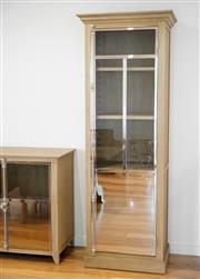 Sale 8450 - Lot 41 - Mirrored Display Cabinet, W 80cm x D 50cm x H 220cm, as new.
