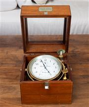 Sale 8694A - Lot 58 - A Marine Chronometer of Thomas Mercer of St Albans from the Kelvin Hughes in a fitted timber case