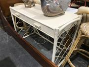 Sale 8893 - Lot 1064 - Cane Hall Table