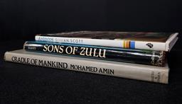 Sale 9254 - Lot 2021 - 3 Volumes: Scott, G. Ardmore an African Discovery; Elliott, A. Sons of Zulu; Amin, M. Cradle of Mankind