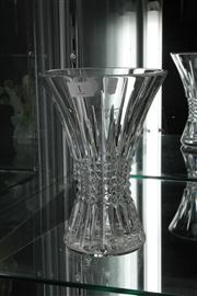 Sale 8024 - Lot 1 - Waterford Crystal Vase with Box