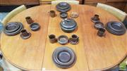 Sale 8383 - Lot 1095 - Arabia Ware Service for Four