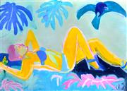 Sale 8350E - Lot 8 - Mia Oatley (1977 - ) - Fly Away with Me Baby 130 x 175cm