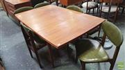 Sale 8395 - Lot 1085 - Parker Six Piece Dining Suite incl. Extension Table and Five Chairs