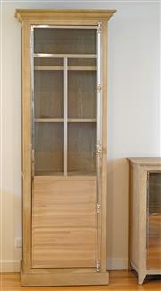 Sale 8450 - Lot 42 - Mirrored Display Cabinet, W 80cm x D 50cm x H 220cm, as new.