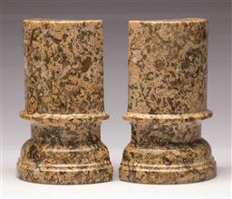 Sale 9119 - Lot 162 - A pair of Moroccan fossil bookends H: 18cm