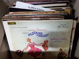 Sale 9176 - Lot 2304 - Box of Records incl Musicals & Elvis