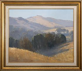 Sale 9195H - Lot 9 - Les Graham - Morning Light at the Willows signed lower left