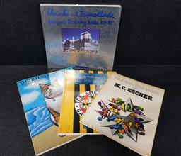 Sale 9254 - Lot 2020 - 4 Volumes incl. Christo & Jearnne-Claude Wrapping Reichstag Berlin 1971-95; The Illustrated Cat a poster book byJean-claude Suare...