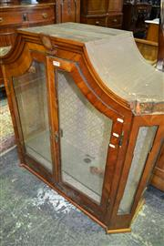 Sale 8093 - Lot 1751 - Walnut and Inlaid Bookcase Top A/F