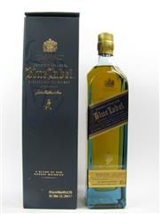 Sale 8225 - Lot 1746 - 1x Johnnie Walker Blue Label Rare Blended Scotch Whisky - 200ml in box