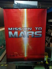 Sale 8619 - Lot 2087 - Mission To Mars - Advertising Canvas