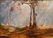 Sale 8683 - Lot 568 - Kevin Best (1932 - 2012) - Morning Gold 28 x 38cm