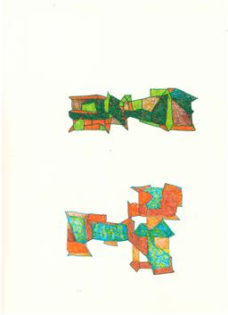 Sale 9101 - Lot 2013D - Lyndon Dadswell (1908-1986) (10 works) - Sketches no. 691 - 700, c1970s various sizes