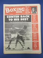 Sale 8419A - Lot 69 - Boxing News - a box of the UK Boxing News, 1977-1980, lots of Ali