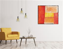 Sale 9128A - Lot 5070 - Kudditji Kngwarreye (c1928 - 2018) - My Country 82 x 89 cm (stretched and ready to hang)