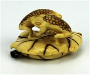 Sale 8139 - Lot 39 - Ivory Carved Japanese Netsuke