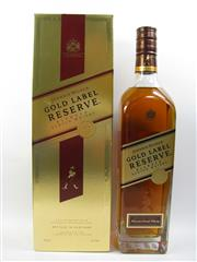 Sale 8225 - Lot 1758 - 1x Johnnie Walker Gold Label Master Blenders Reserve Scotch Whisky - 750ml in box