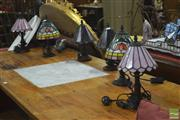 Sale 8305 - Lot 1064A - Set of Six Table Lamps