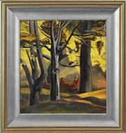 Sale 8325A - Lot 122 - Gene Ashton (XX) - Resting under the Trees 43.5 x 40cm