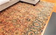 Sale 8863H - Lot 17 - A Robyn Cosgrove Persian Garden carpet with acanthus all over design in jewel like colours, measuring 314cm, x 240cm