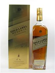 Sale 8225 - Lot 1759 - 1x Johnnie Walker Gold Label Master Blenders Reserve Scotch Whisky - 750ml in box