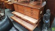 Sale 8383 - Lot 1040 - Good Quality Two Piece Map Chest