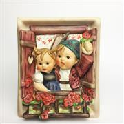 Sale 8456B - Lot 5 - Hummel Figure of a Boy & Girl in Window
