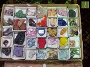 Sale 8495F - Lot 1029 - Collection of Mineral Crystals