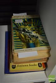 Sale 8497 - Lot 2375 - 9 Volumes incl. 3 Agatha Christie Novels