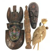 Sale 8645D - Lot 34 - Collection Of Cultural Wares inc Masks