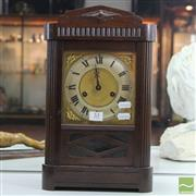 Sale 8365 - Lot 53 - Timber Cased Clock