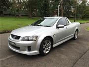Sale 8421V - Lot 4001 - Holden VE SV6 2010 Utility                                                             Reg No: BNB 12F...