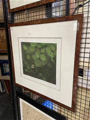 Sale 8945 - Lot 2084 - Terence Millington (1942 - ) Nasturtium aquatint, ed 35/75, 27.5 x 32.5 cm, signed -
