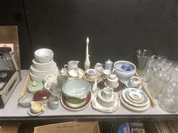 Sale 9101 - Lot 2428 - Large Collection of Ceramic Wares incl. Royal Doulton, etc.