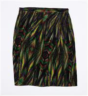 Sale 8760F - Lot 202 - An M Missoni printed silk skirt, made in Italy, size 48
