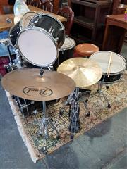 Sale 8839 - Lot 1363 - Drum Kit With Remo Skins/Heads