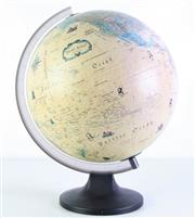Sale 8960 - Lot 77 - A World Globe on Stand (H 40cm)